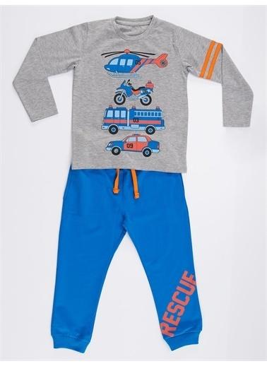 Denokids Rescue Team Erkek Çocuk Pantolon Takım Renkli